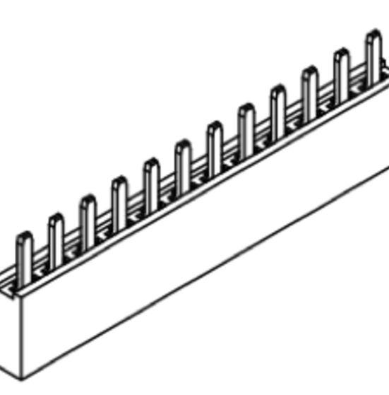 Produkt Nr. B254111 (2.54mm Pitch; THT)