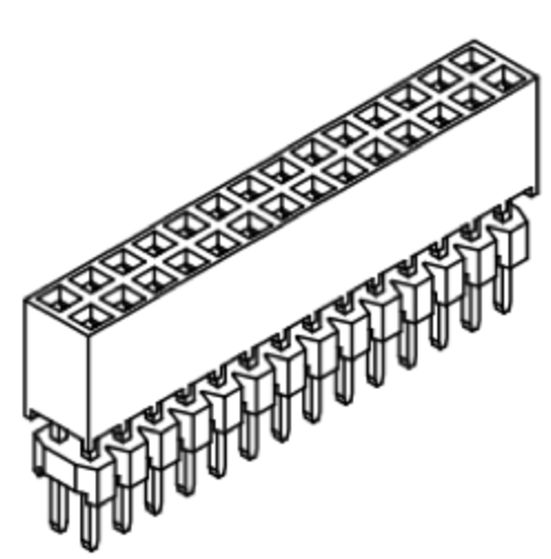 Produkt Nr. B200118 (2.00 mm Pitch; THT)
