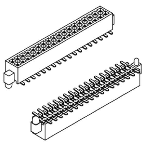 Produkt Nr. B127154 (1.27 mm Pitch; SMT)