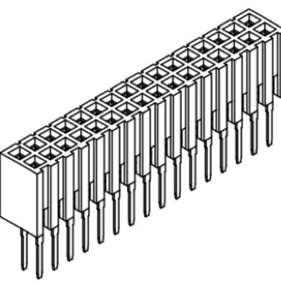 Produkt Nr. B200106 (2.00 mm Pitch; THT)