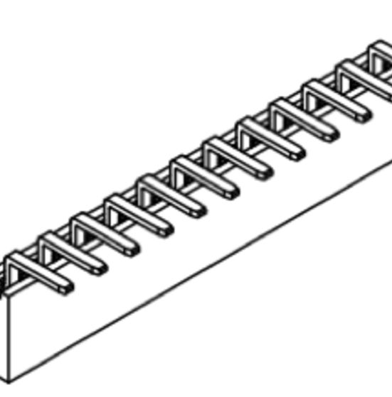 Produkt Nr. B254121 (2.54 mm Pitch; THT)