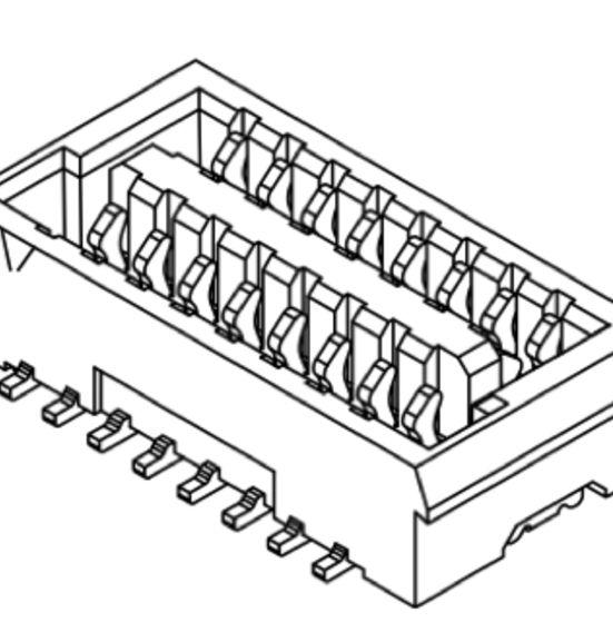 Produkt Nr. C100410 (1.00 mm Pitch; SMT)