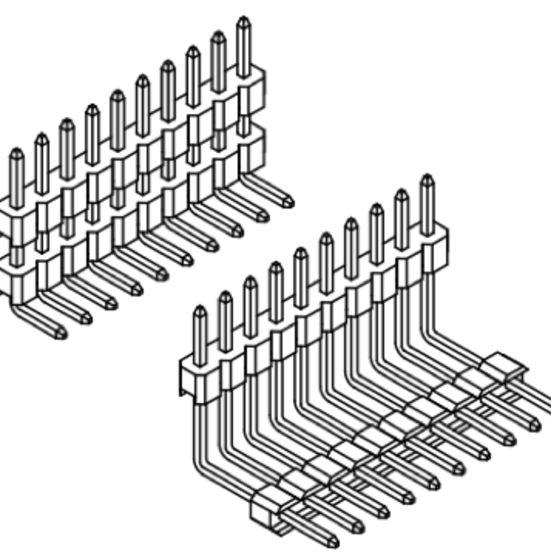 Produkt Nr. A254127 (2.54 mm Pitch; THT)