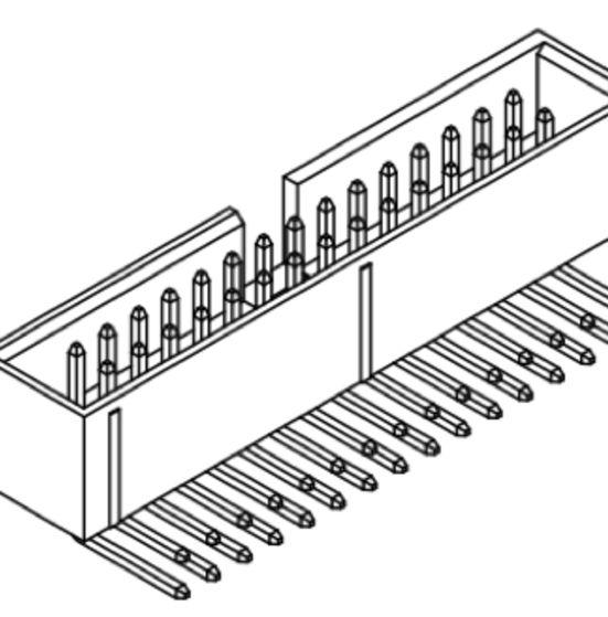 Produkt Nr. A254182 (2.54 mm Pitch; THT)