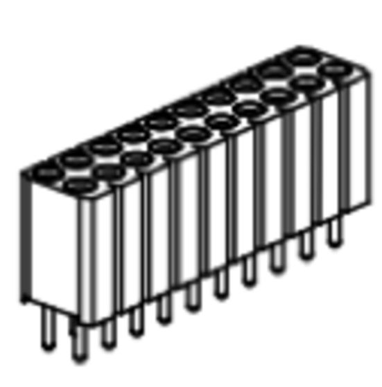 Produkt Nr. BP254122 (2.54 mm Pitch; THT)