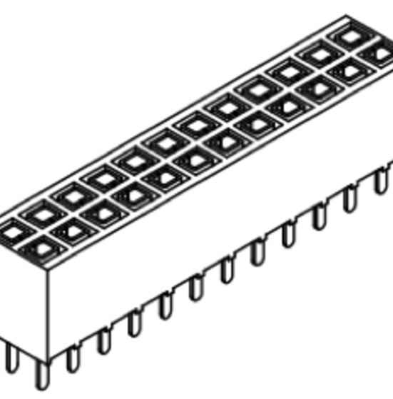 Produkt Nr. B254108 (2.54 mm Pitch; THT)