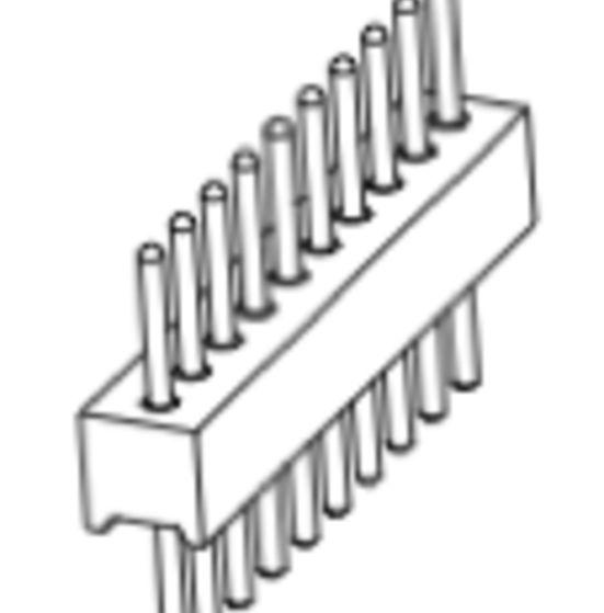 Produkt Nr. AP127101 (1.27 mm Pitch; THT)