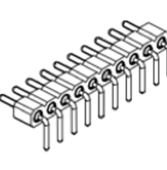 Produkt Nr. AP254125 (2.54 mm Pitch; THT)