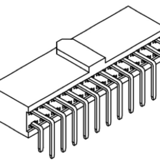 Produkt Nr. B254182 (2.54 mm Pitch; THT)