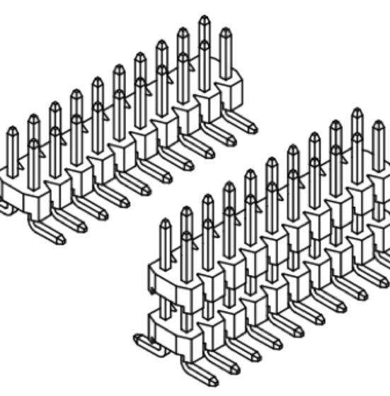 Produkt Nr. A254152 (2.54 mm Pitch; SMT)