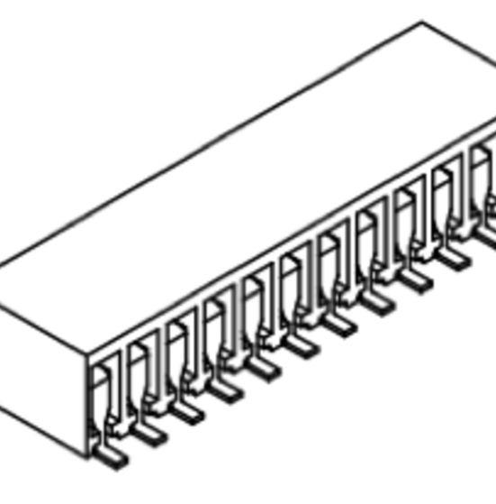Produkt Nr. B254162 (2.54 mm Pitch; SMT)
