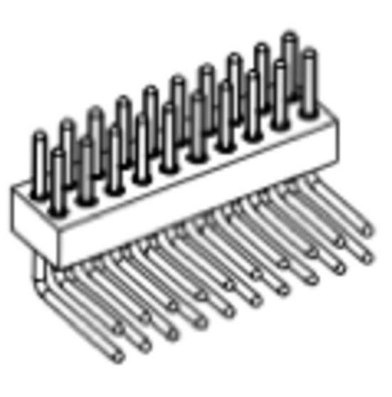 Produkt Nr. AP127120 (1.27 mm Pitch; THT)