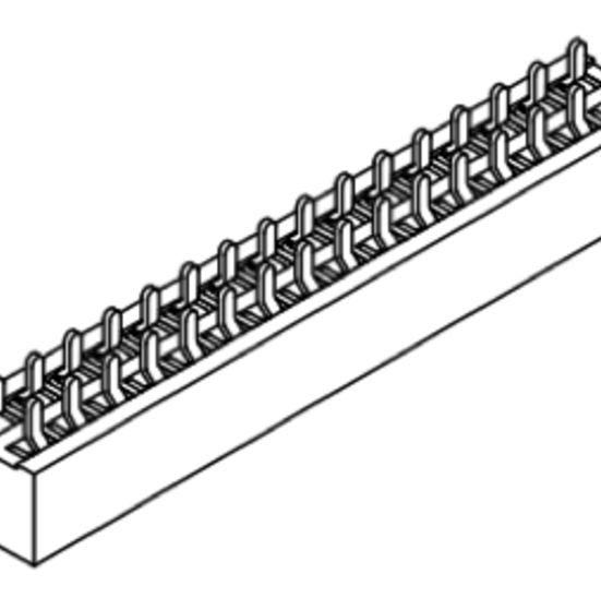 Produkt Nr. B100102 (1.00 mm Pitch; THT)