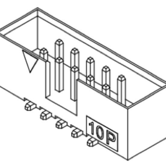 Produkt Nr. C200409 (2.00 mm Pitch; SMT)