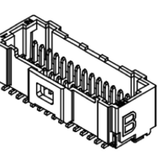 Produkt Nr. C100408 (1.00 mm Pitch; SMT)