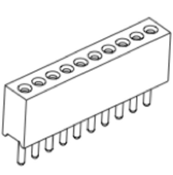 Produkt Nr. BP100101 (1.00 mm Pitch; THT)