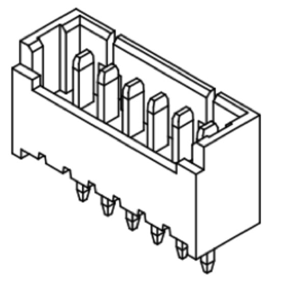 Produkt Nr. C125404 (1.25 mm Pitch; THT)