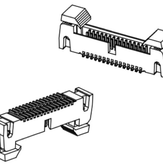 Produkt Nr. A127190 (1.27 mm Pitch; SMT)