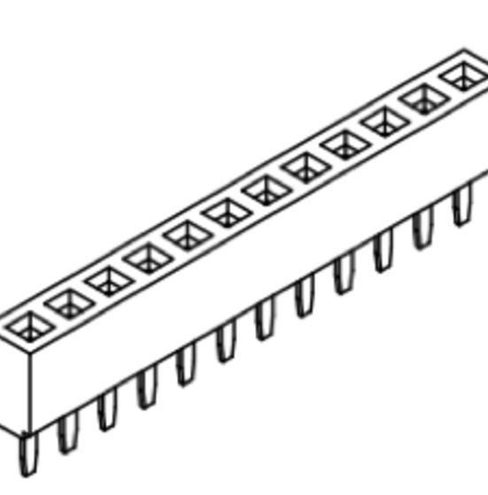 Produkt Nr. B254103 (2.54 mm Pitch; THT)
