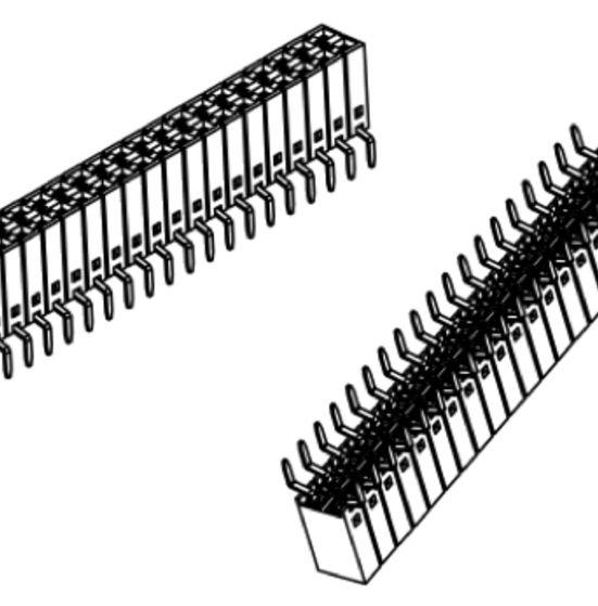 Produkt Nr. B254120 (2.54 mm Pitch; THT)