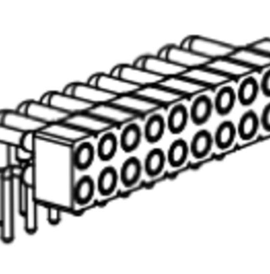 Produkt Nr. BP200120 (2.00 mm Pitch; THT)