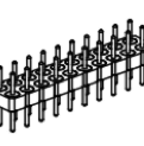 Produkt Nr. AP254104 (2.54 mm Pitch; THT)