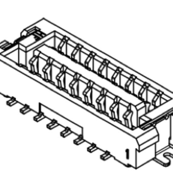 Produkt Nr. C125406 (1.25 mm Pitch; SMT)