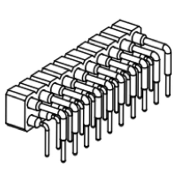 Produkt Nr. BP254128 (2.54 mm Pitch; THT)
