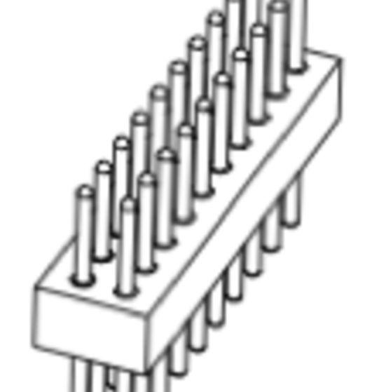 Produkt Nr. AP127102 (1.27 mm Pitch; THT)