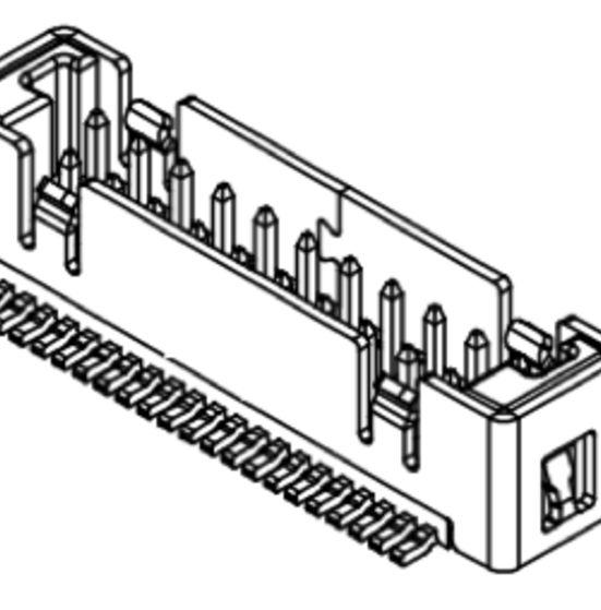 Produkt Nr. C125409 (1.25 mm Pitch; SMT)