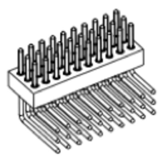 Produkt Nr. AP127123 (1.27 mm Pitch, THT)