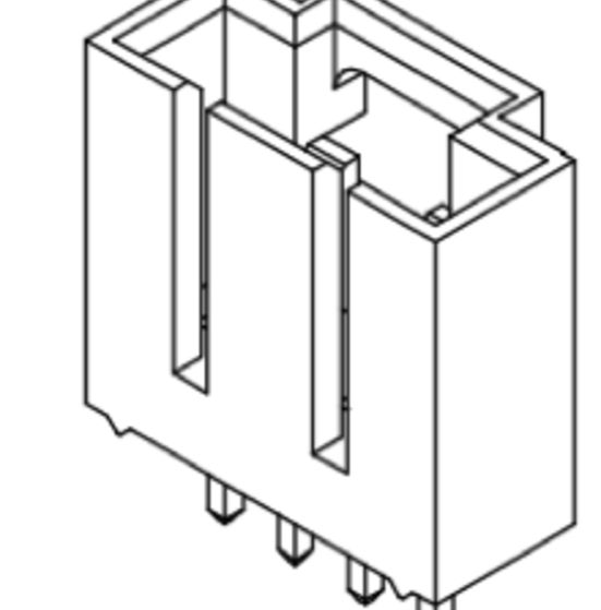 Produkt Nr. C254401 (2.54 mm Pitch; THT)