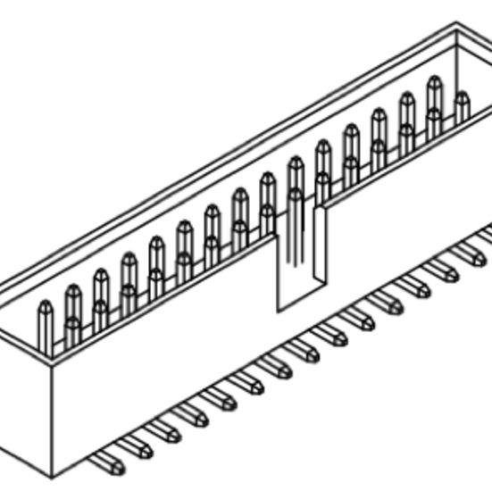 Produkt Nr. A254183 (2.54 mm Pitch SMT)