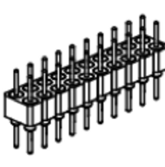 Produkt Nr. AP254108 (2.54 mm Pitch; THT)