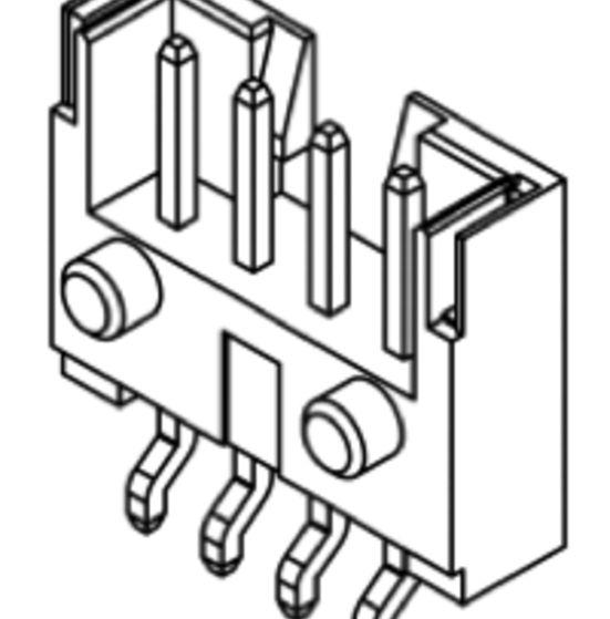 Produkt Nr. C200413 (2.00 mm Pitch; SMT)