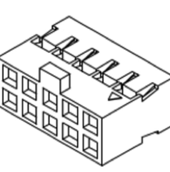 Produkt Nr. D200408 (2.00 mm Pitch Housing)
