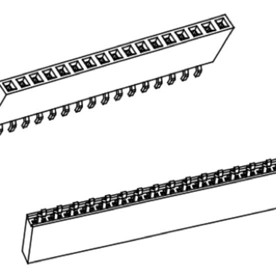 Produkt Nr. B254157 (2.54 mm Pitch; SMT)