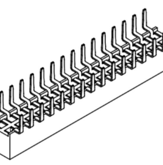 Produkt Nr. B200108 (2.00 mm Pitch; THT)