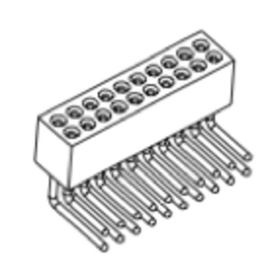 Produkt Nr. BP127120 (1.27 mm Pitch; THT)