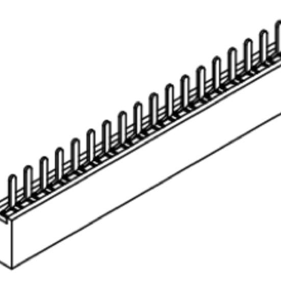 Produkt Nr. B127101 (1.27 mm Pitch; THT)