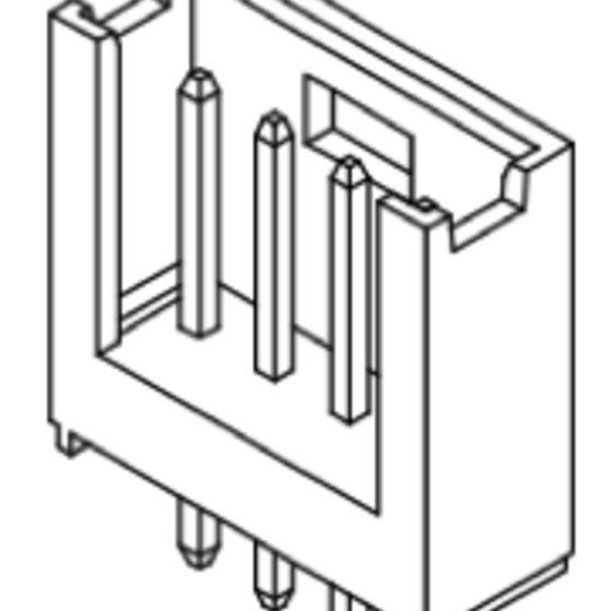 Produkt Nr. C254403 (2.54 mm Pitch; THT)