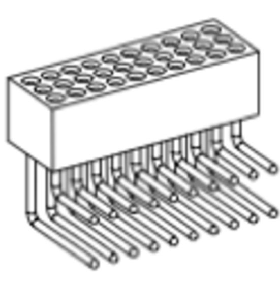 Produkt Nr. BP127123 (1.27 mm Pitch; THT)