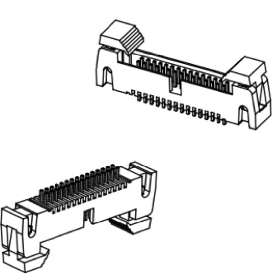 Produkt Nr. A127186 (1.27 mm Pitch; THT)