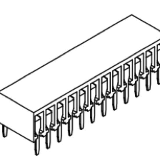 Produkt Nr. B254126 (2.54 mm Pitch; THT)