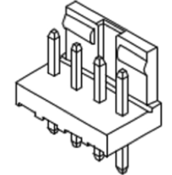 Produkt Nr. C250403 (2.50 mm Pitch; THT)