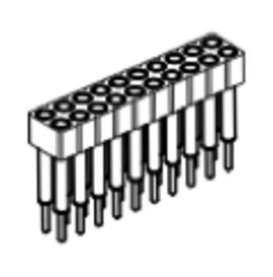 Produkt Nr. BP200108 (2.00 mm Pitch; THT)