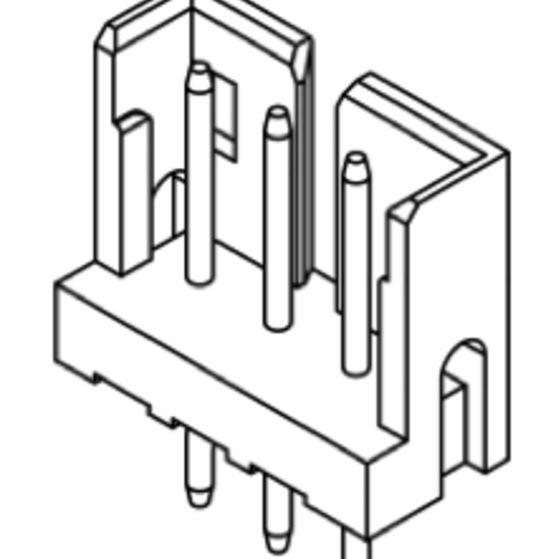 Produkt Nr. C200406 (2.00 mm Pitch; THT)