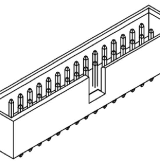 Produkt Nr. A254180 (2.54 mm Pitch; THT)