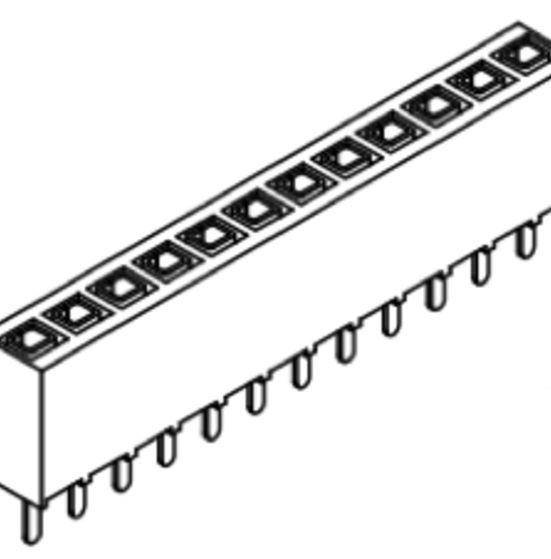 Produkt Nr. B254105 (2.54 mm Pitch; THT)