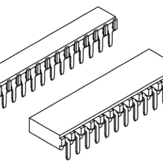 Produkt Nr. B254125 (2.54 mm Pitch; THT)